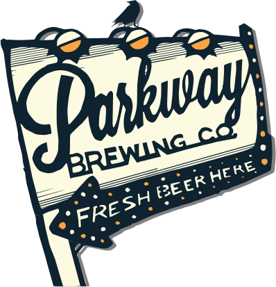 Parkway Brewing Company Sign