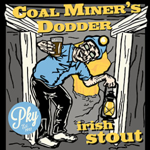 Coal Miners Dodder Irish Stout Parkway Brewing Company Salem Roanoke Virginia Craft Beer