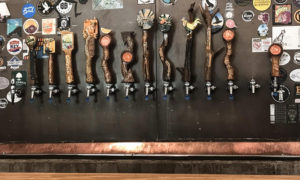 Parkway Brewing Company American Chestnut Tree Tap handles